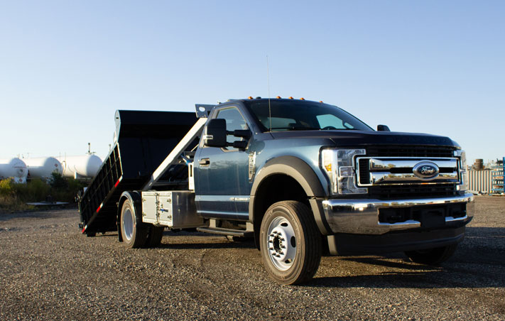 FORD F550 ROLL OFF SYSTEM ON TRUX (11)