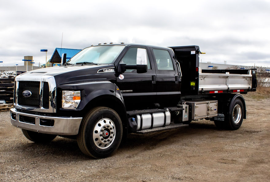 FORD F750 ON TRUX ROLL OFF (2)