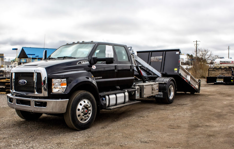 FORD F750 ON TRUX ROLL OFF (5)