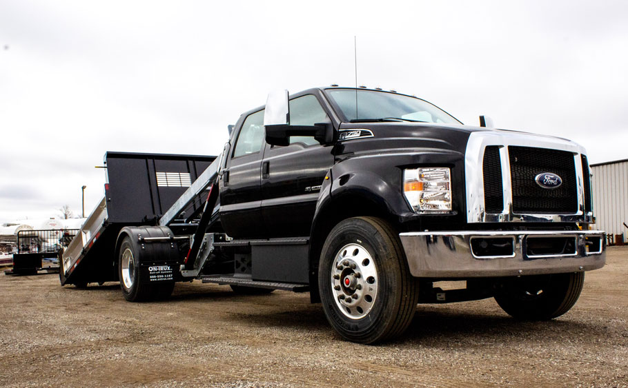 FORD F750 ON TRUX ROLL OFF (6)