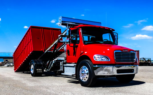FREIGHTLINER ROLL OFF ON TRUX GALVANIZED (11)