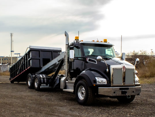 KENWORTH T880 ON TRUX TANDEM ROLL OFF SYSTEM (11)