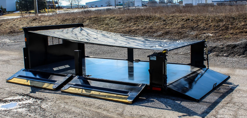 LANDSCAPE DECK ROLL OFF AND HOOK LIFT ON TRUX (11)