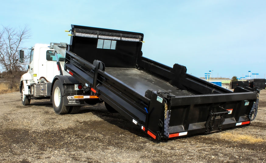 LANDSCAPE DECK ROLL OFF AND HOOK LIFT ON TRUX (13)
