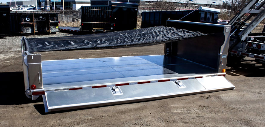LANDSCAPE DECK ROLL OFF AND HOOK LIFT ON TRUX (20)