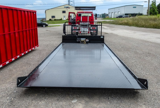 ON TRUX CUSTOM SEA CAN ROLL OFF FLAT DECK (1)