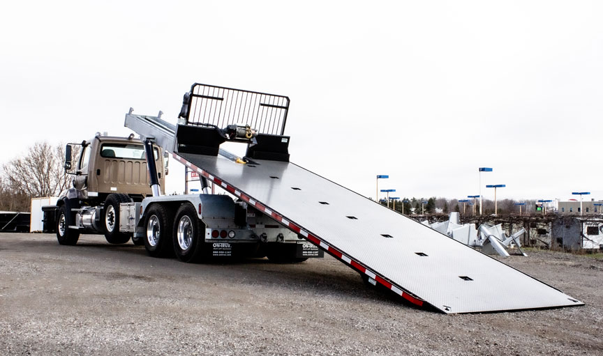 ON TRUX FLAT DECK ROLL OFF AND HOOK LIFT 39 (9)