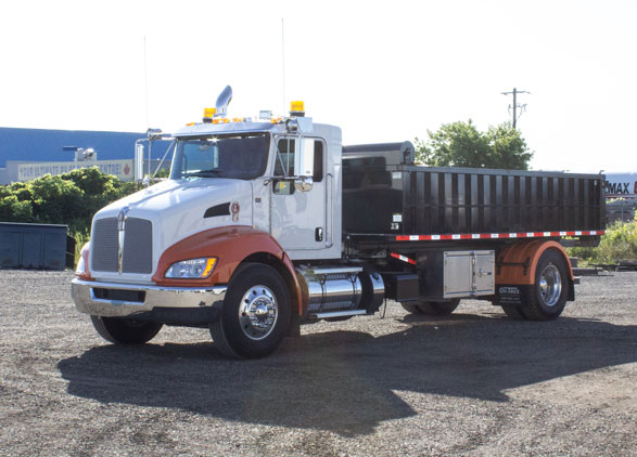 Roll Off On Trux Kenworth T370 (10)