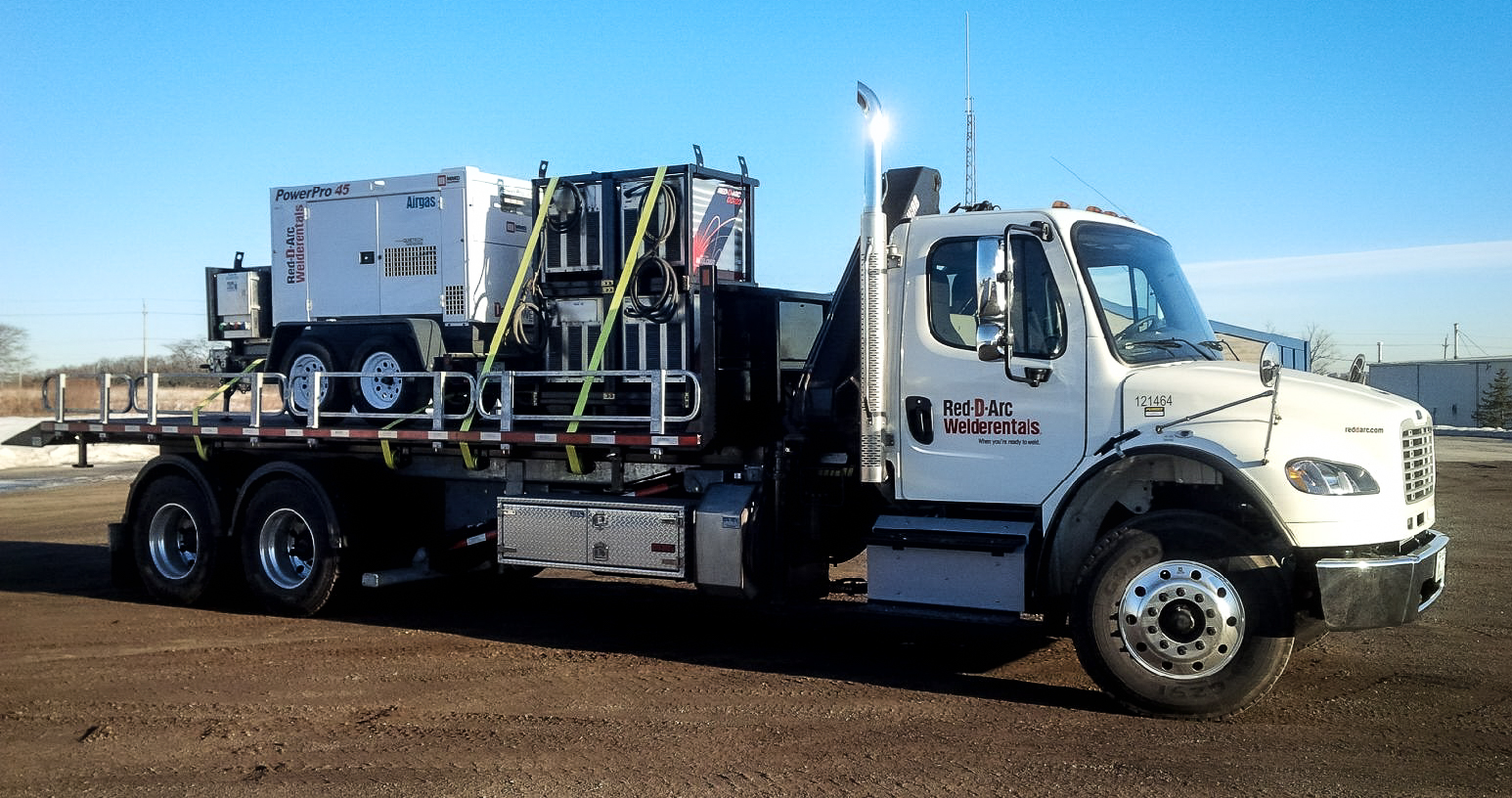 FREIGHTLINER TANDEM M2 ON TRUX ROLL OFF (3)