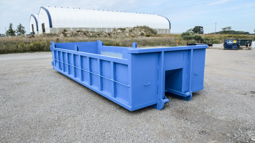 ON TRUX BINS FOR ROLL OFF HOOK LIFT (2)