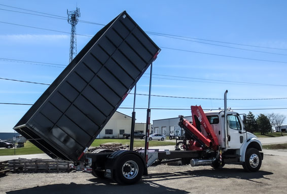 ON TRUX BINS FOR ROLL OFF HOOK LIFT (20)