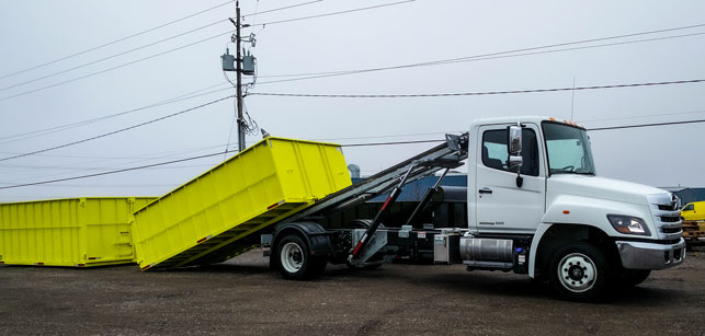 ON TRUX BINS FOR ROLL OFF HOOK LIFT (30)