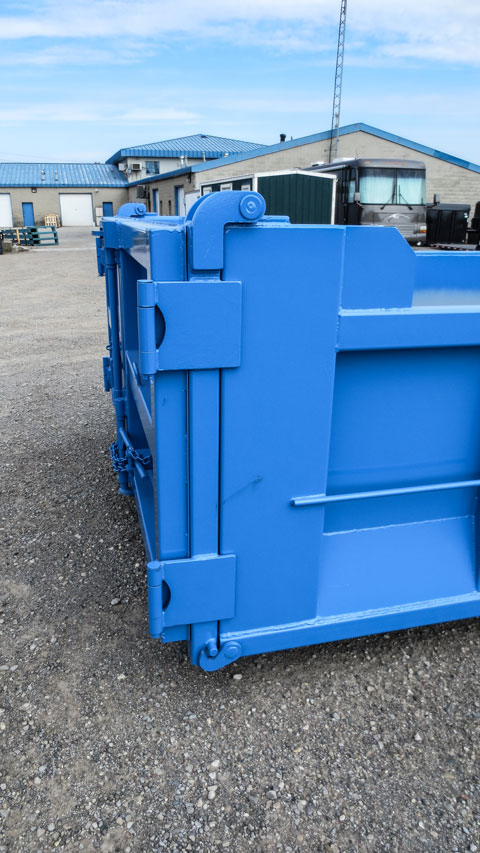 ON TRUX BINS FOR ROLL OFF HOOK LIFT (4)