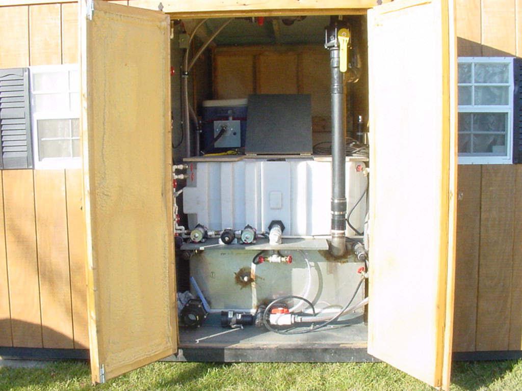 Solar Washroom Utility
