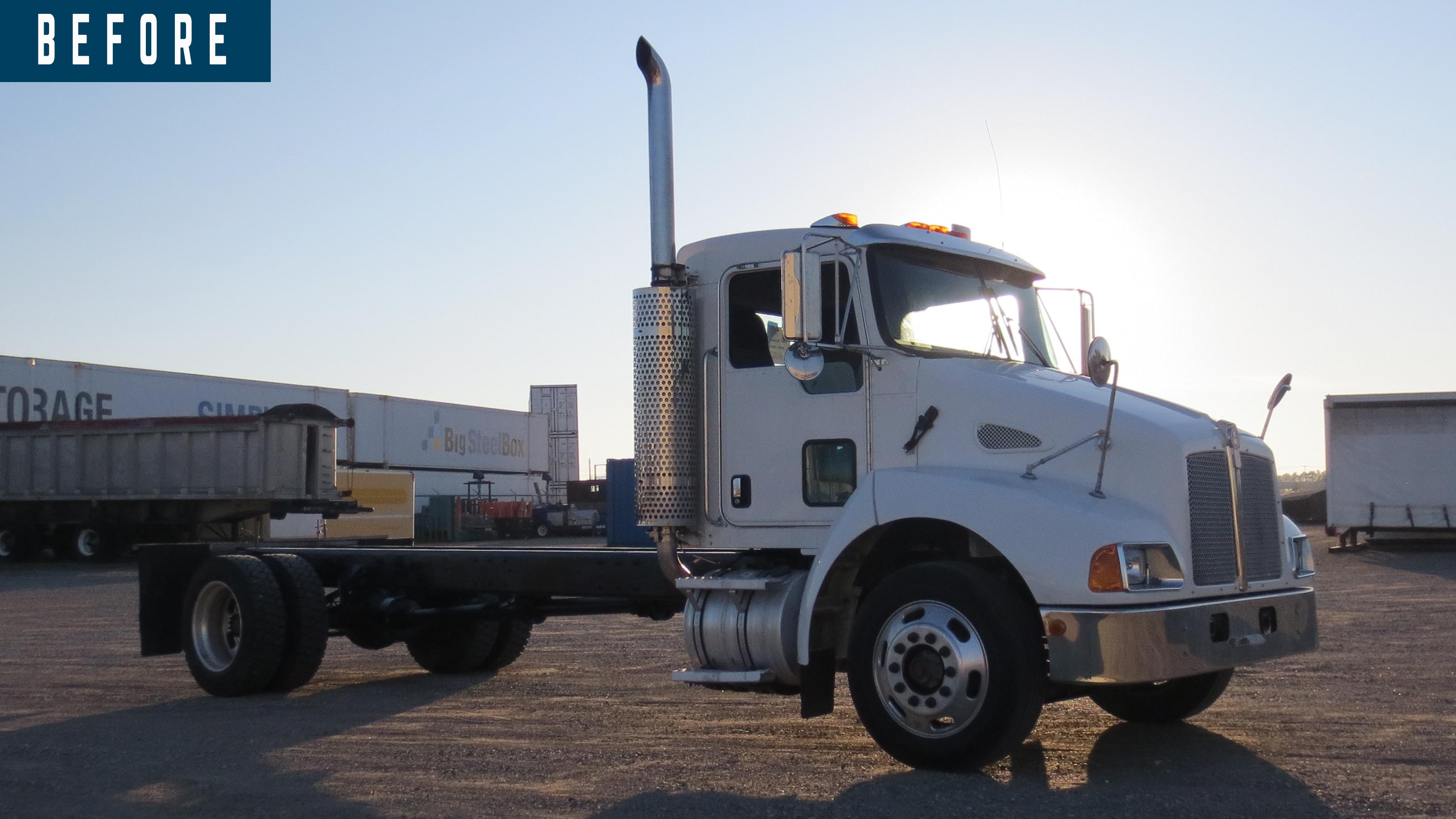 BEFORE AND AFTER 2007 KENWORTH T300 14 ON TRUX SYSTEM (1)