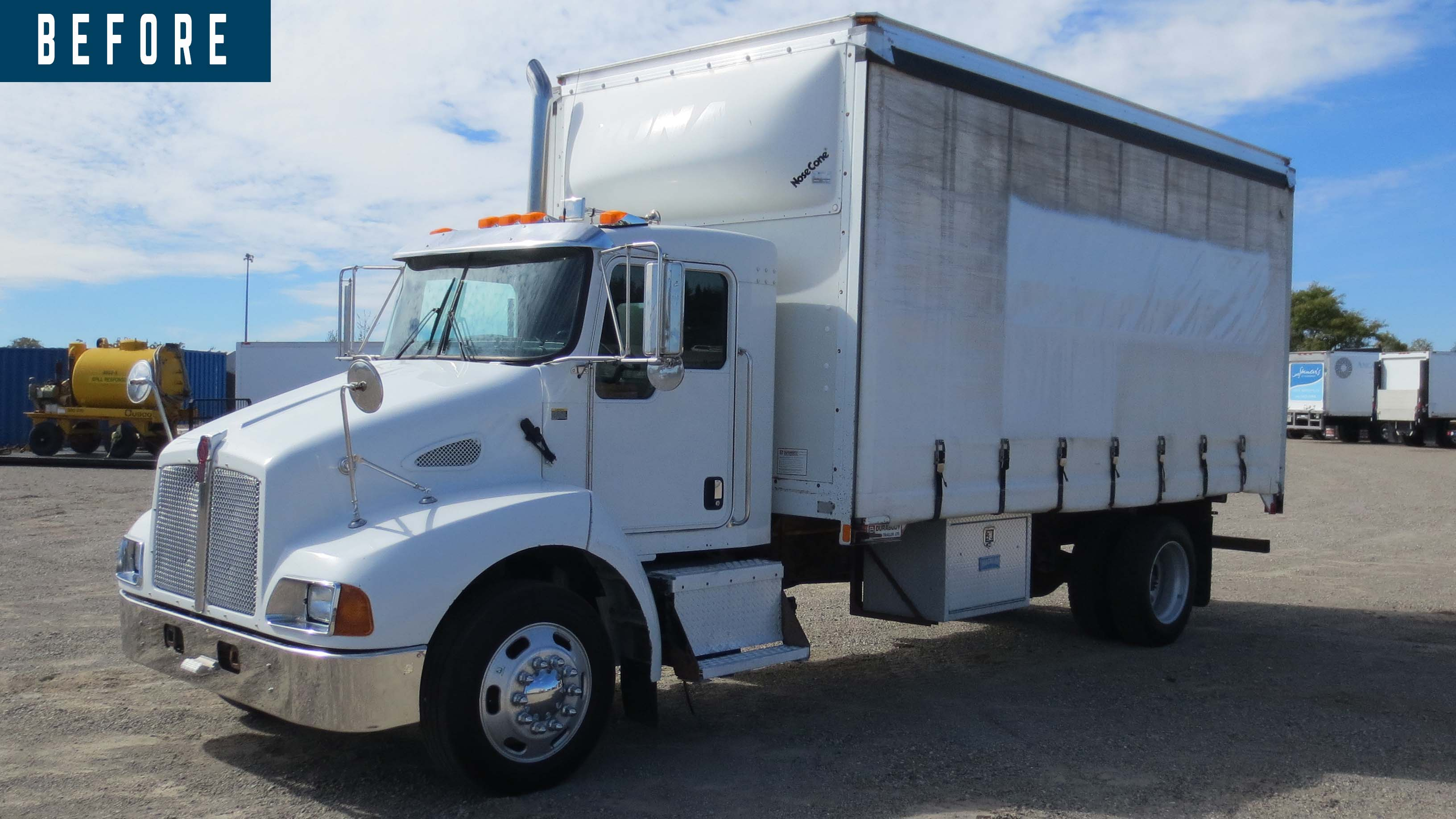 BEFORE AND AFTER 2007 KENWORTH T300 14 ON TRUX SYSTEM (10)