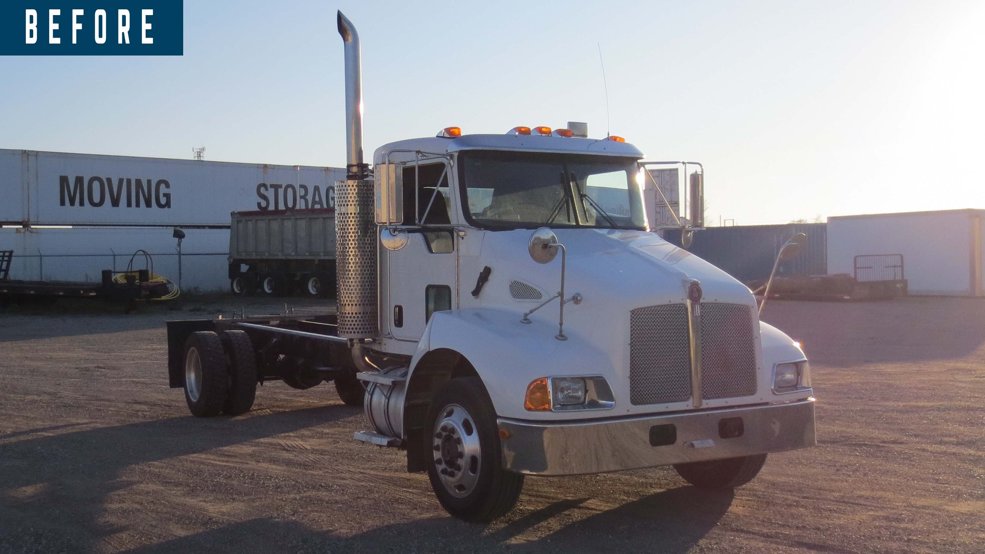 BEFORE AND AFTER 2007 KENWORTH T300 14 ON TRUX SYSTEM (2)