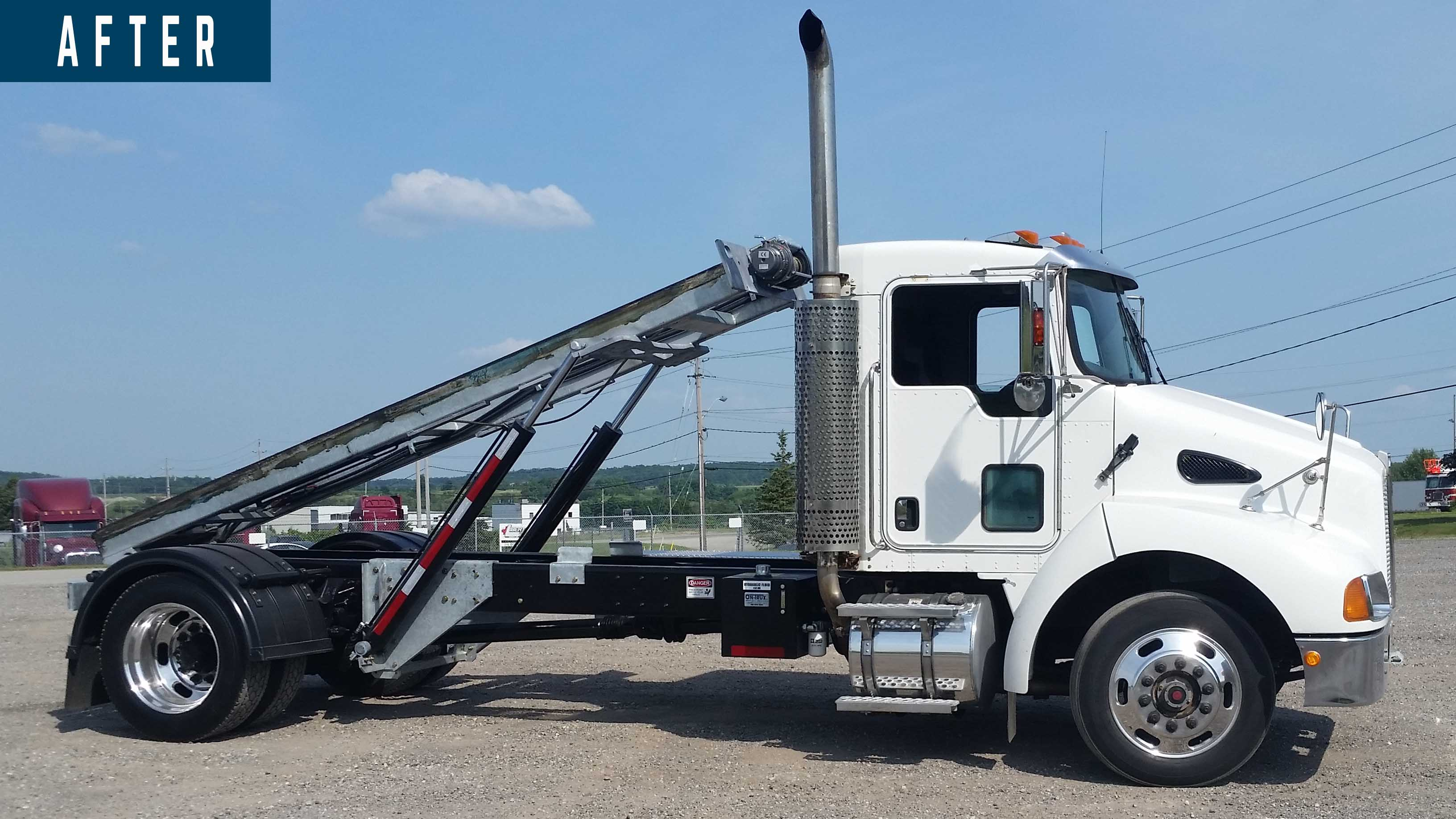 BEFORE AND AFTER 2007 KENWORTH T300 14 ON TRUX SYSTEM (8)