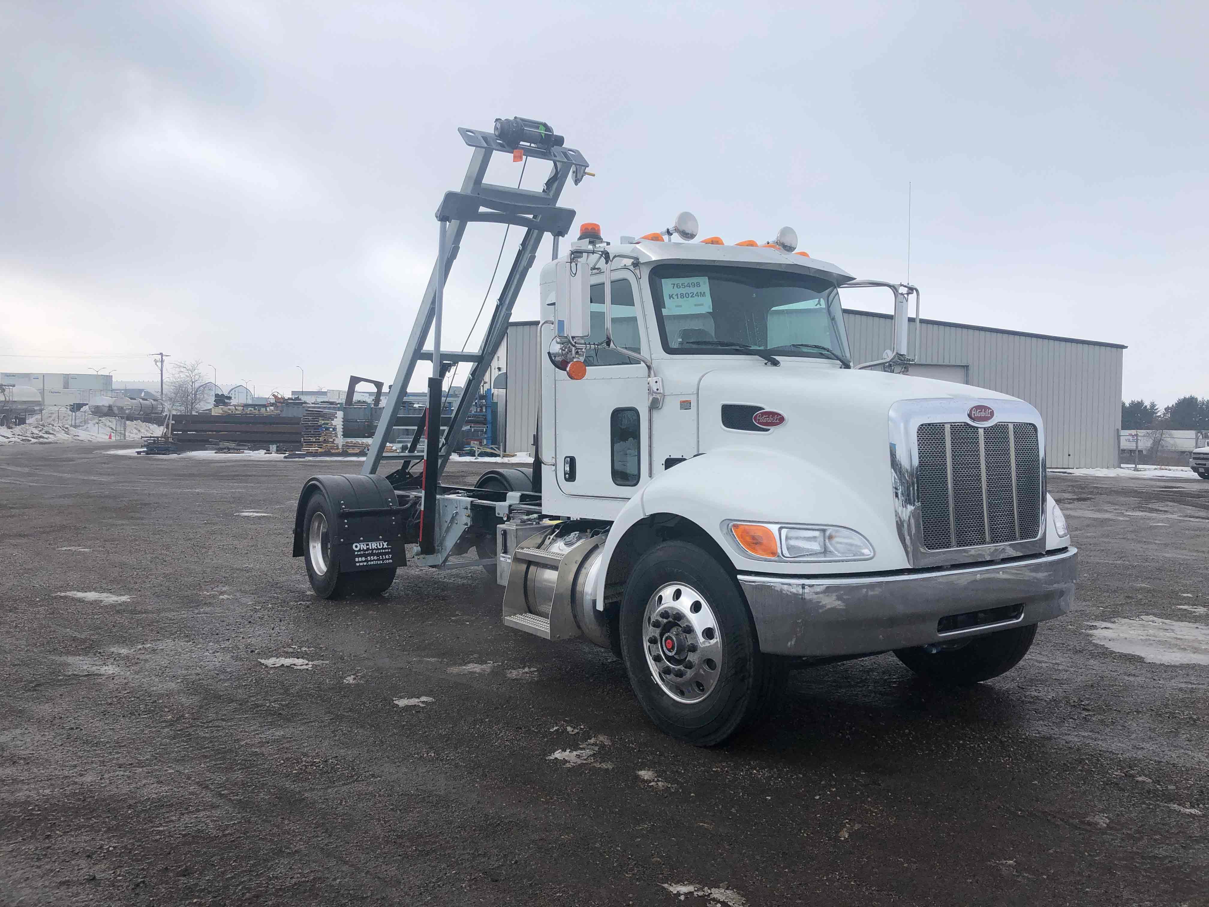 FOR SALE 2021 PETERBILT 337 14′ ON TRUX SYSTEM7